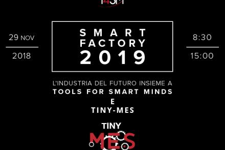 T4SM e Tiny-MES in un evento per scoprire come industria 4.0 influenzerà i software MES