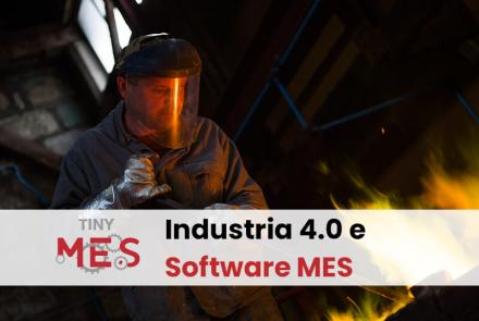 Tiny-MES - Industria 4.0 e Software MES